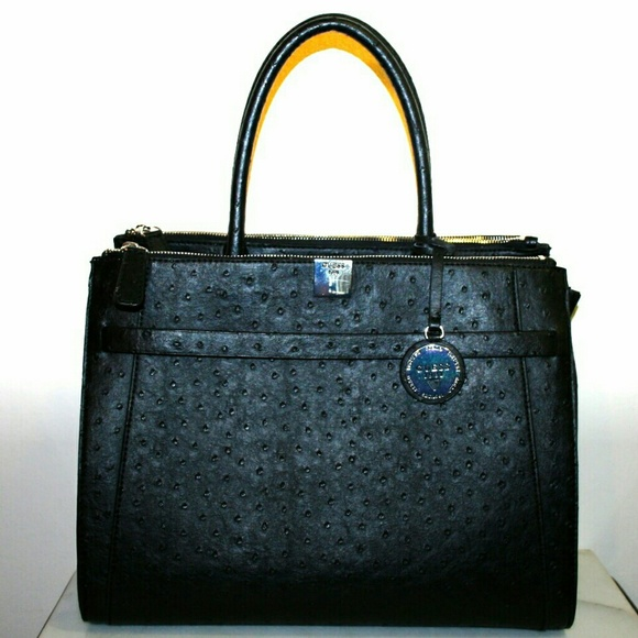Guess by Marciano Handbags - Guess Ostrich Satchel Tote